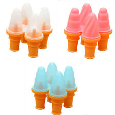 MagiDeal Silicone Ice Cream Maker Mould Frozen Jelly Lolly Pop Popsicle DIY