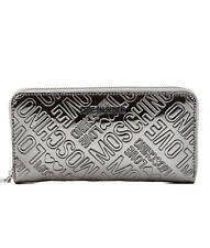 MOSCHINO LOVE JC5549910 women Wallets Silver NEW  OUTLET
