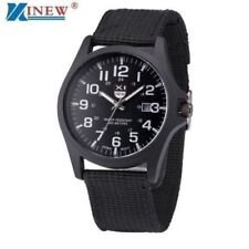XINEW Brand Wrist Watches Men Sports Outdoor Military Watch Mens Luxury Steel Di