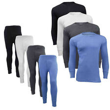 Mens Thermal Long Johns Long Sleeve T-Shirts Winter Warm Thermal Underwear Lot