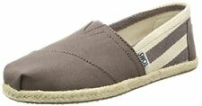 Toms 10005417 : Womens Classic Grey White Stripe University Slip On