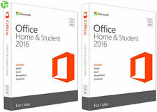 Microsoft Office Home & Student 2016 for Apple MAC - Word Excel PowerPoint ++