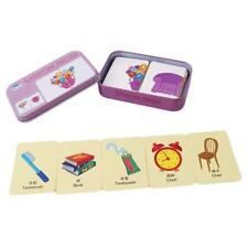 Baby Kids Children Cards Matching Game with Box Preschool Educational Toy Gift W