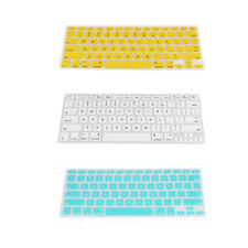 "Dustproof Keyboard Gel Silicone Cover Skin for Macbook Pro 13"" - 17"" Desktop"