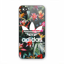 Adidas Tropical Floral Print Hard Plastic Case For iPhone 5 5s SE 6 6s 7 Plus