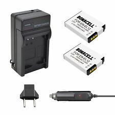 EN-EL12 Battery+Charger For Nikon Coolpix AW110 AW100 S8200 S6000 S6300 S9200