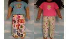 """Pajamas handmade for 18"""" American Girl Doll to fit 18 inch Doll Clothes 312ab"""