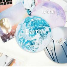 New Creative Planet Round Gaming Mouse Pad Mat Mousepad For Optical Laser Mouse