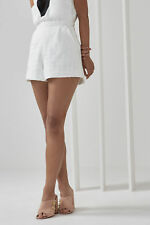 NEW Women's C/Meo Collective Silver Sounds Short Ivory