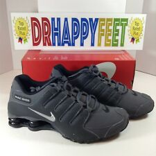 Nike Shox NZ Mens Size Running Shoes Dark Grey Metallic Iron Black 378341 059