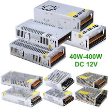 40W-400W Switch Power Supply Adapter LED Strip Light  Driver AC100-240V to DC12V