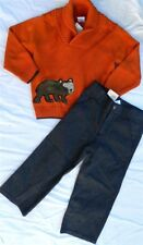 Gray Pant Set Gymboree Sweater Cotton Boy size 2T New