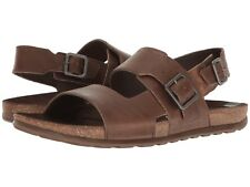 NEW Mens MERRELL Dark Earth Brown DOWNTOWN BACKSTRAP BUCKLE Active Sandal Shoes