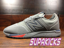 """NEW BALANCE MRL247GN """"Classic 247"""" (Grey / Navy / Red) Mens Lifestyle Sz 8 - 13"""