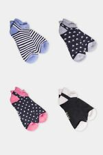 BAM Bamboo Trainer Socks Size 4-7  Choice of Design Womens Soft and Eco Friendly