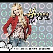Hannah Montana 2-Disc Special Edition Soundtrack CD DVD 2007 Miley Cyrus