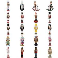 Wooden Nutcracker Walnut Soldier Christmas Decoration Ornaments Xma's Toys Gifts