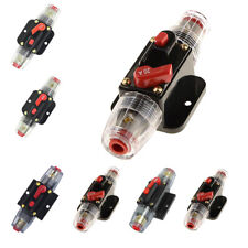 20-100A 12V DC Circuit Breaker Fuse for Car Audio Inline System Protection