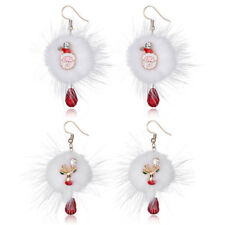 1 Pair Fashion Jewelry Earring Christmas Series Women Earring Crystal Christmas