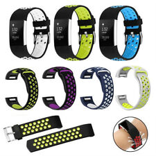 Replacement Silicone Sports Watch Strap Wrist band Bracelet For Fitbit Charge 2