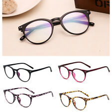 Unisex Vintage Eye Glasses Anti Radiation Clear Lens Eyewear Women Men Party Hot