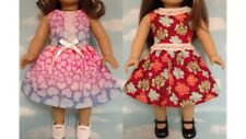 """Dress handmade to fit 18"""" American Girl Doll 18 inch Doll Clothes 18ab"""