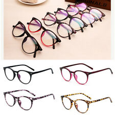 Unisex Vintage Retro Fashion Nerd Eye Glasses Anti Radiation Clear Lens Eyewear