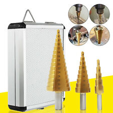 Various HSS Steel Large Step Cone Drill Titanium Bit Hole Cutter Drill Accessory