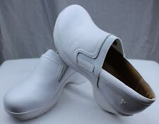 Nurse Mates Briley White Nurses/Doctor/Chef Shoes Orthopedic Pillow Insole Clogs