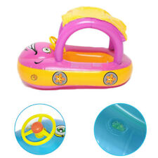 Sunshade  Cute Float Boat Swim ring Child  Water  Inflatable Car New
