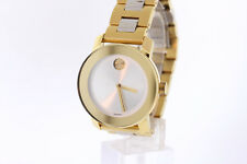 Unisex Movado BOLD 3600129 Two-Tone Stainless Steel Silver-Tone Dial Watch