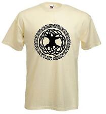 CELTIC TREE OF LIFE T-SHIRT -  Pagan Druid Wicca  - Choice Of 9 Colours