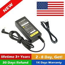 12V 4A 48W AC/DC Power Supply 4 Amp 12 Volt Adapter LCD Screen USA