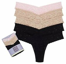 Hanky Panky Women's Signature Lace Low Rise Ombre 5Pack Thong Underwear Panty OS