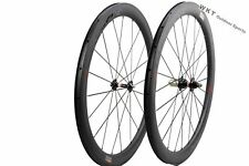 WOKECYC 50mm Clincher Carbon Bicycle Wheels 700C 25mm width Carbon Wheelset