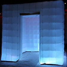 Inflatable Professional LED Photo Booth Tent For Weddings, Birthdays, Events~
