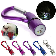 Hot Aluminum Dog Cat Pet Safety Flashing Flash LED Light Collar Tag Waterproof