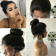 Free Part 100% Italian Remy Human Hair Wigs Lace Front Lace Peruvian Virgin Hair