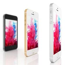 """Apple iPhone 5S - 5 - 4S 16 32 64GB """"GSM Unlocked"""" Smartphone Gold Gray Silver F"""