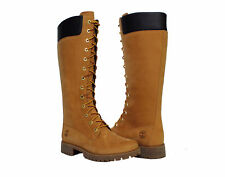 Timberland PRE 14-Inch Waterproof Side-Zip Lace-Up Wheat Women's Boots 8633A