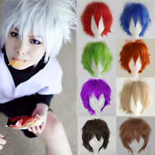 Short Straight wig 20 colors Curly Cosplay Wig fashion hair Anti-Alice Wig VCX