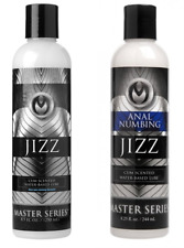 JIZZ cum scented water based lube lubricant lube anal desensitizing sperm numb