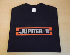 RETRO SYNTH T SHIRT SYNTHESISER DESIGN JUPITER 8 S M L XL XXL