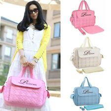 Stylish Large Mummy Changing Bag Baby Diaper Nappy shoulder Bags Messenger US