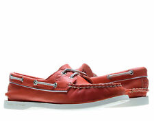 Sperry Top Sider Authentic Orginal 2-Eye Coral/Silver Women's Boat Shoes 9265638