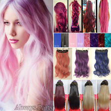 Real Cosplay As Human Hair Extension Long Straight Curly Clip In Hair Extensions