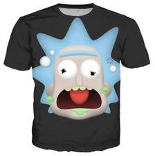 Womens/Mens Funny Rick and Morty 3D Print Casual T-Shirts Short Sleeve Tops Tee