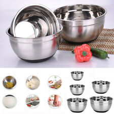 Stainless Steel Mixing Bowl Homemade Professional Kichen Baking Tool Ranges