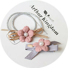 Hair Ring Flower Hair Rubber bands Ties Hair Accessories Rope Cloth Headbands