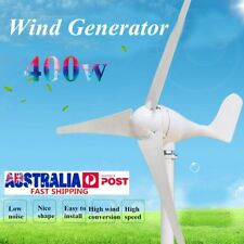 400W Wind Turbine Generator DC 12V 24V 3 Blade with Windmill Charge Controller